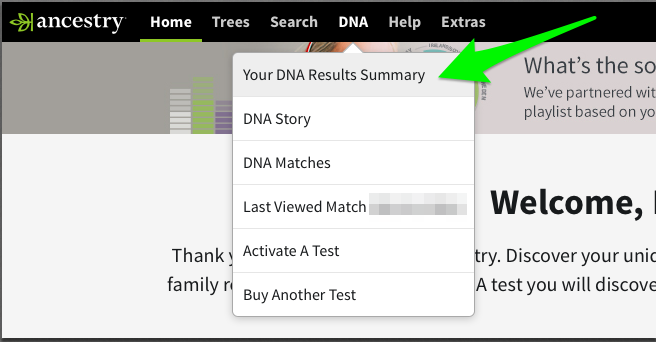 How can I find my DNA data from 23andMe or Ancestry com?